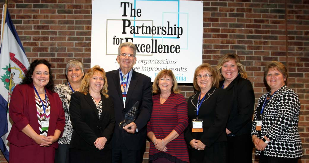 Award recipients honored for organizational excellence at the 2016 Quest for Success Conference by The Partnership for Excellence