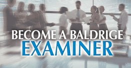 Become a Baldrige Examiner in 2021